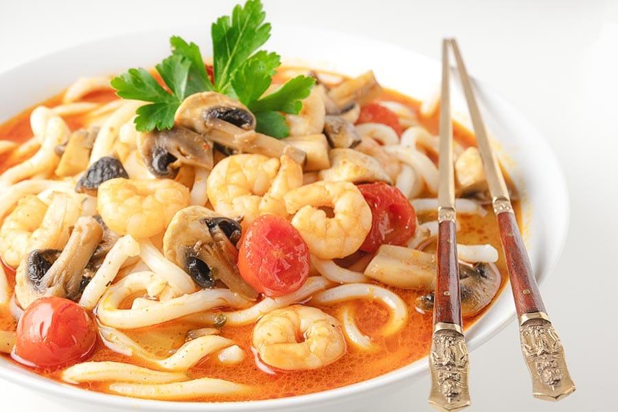 Rezept Thai Kokos Currysuppe