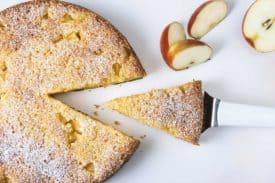 Apfel Eierlikör Kuchen