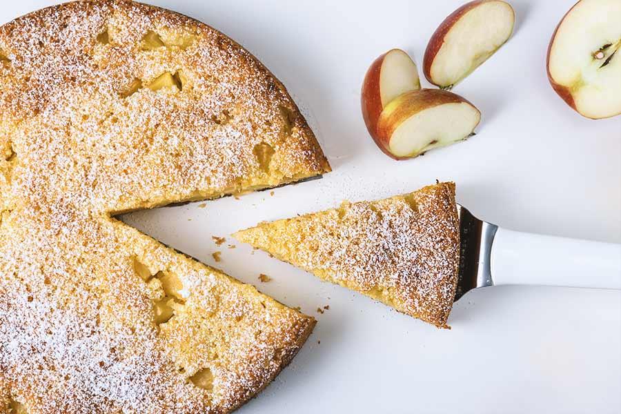Rezept Apfel Eierlikör Kuchen