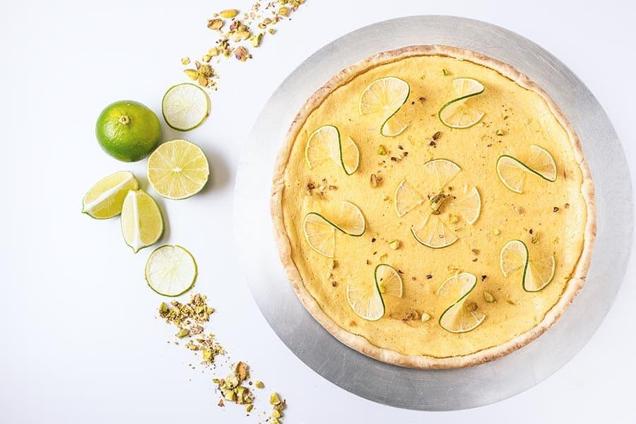 Rezept Limetten Tarte