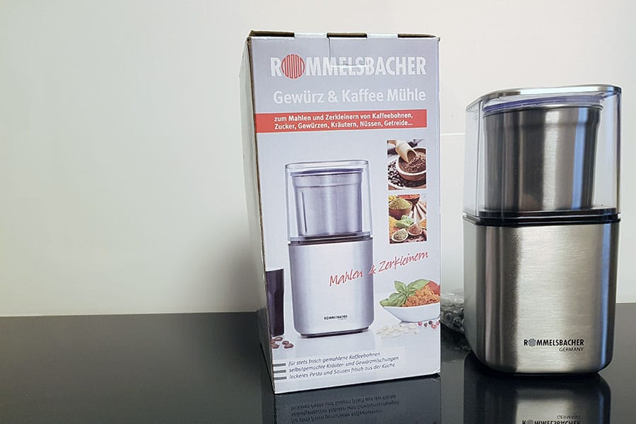 Rezept Rommelsbacher EGK 200 Gewürz & Kaffee Mühle