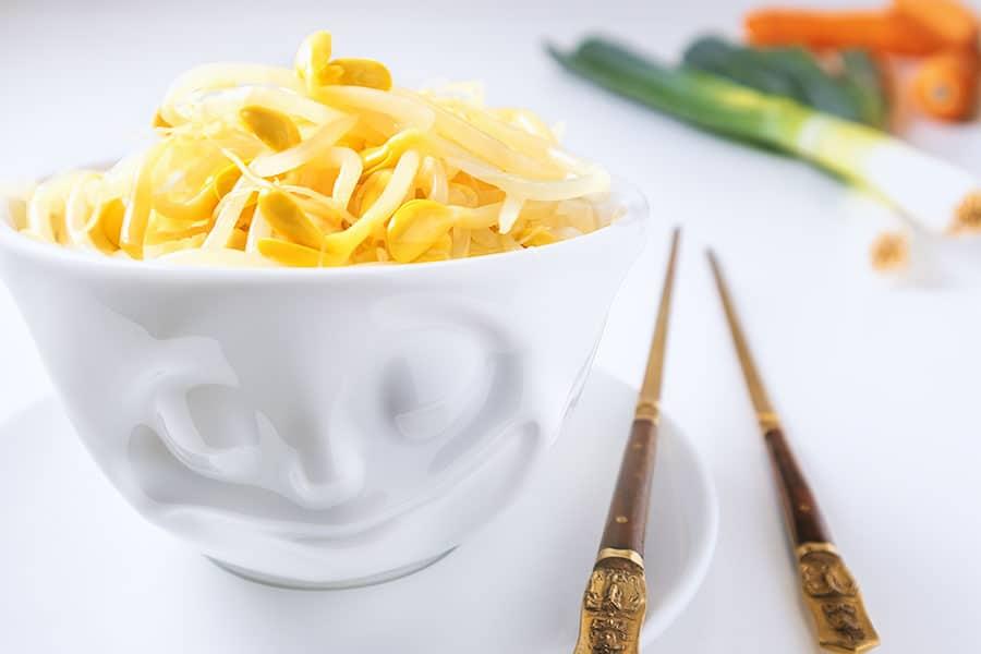 Rezept Chinesischer Sojabohnensprossensalat