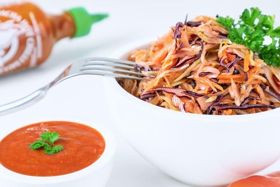 Rezept Sriracha Cole Slaw