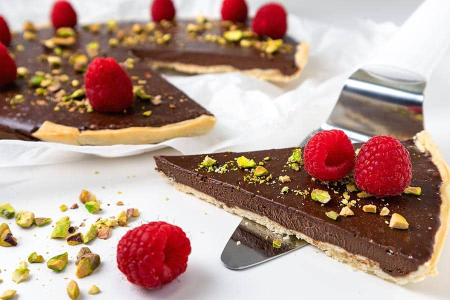 Rezept Tarte au chocolate