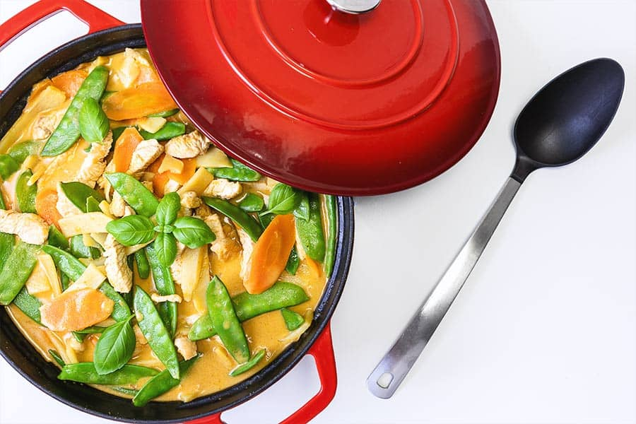 Rezept Truthahn Erdnuss Curry