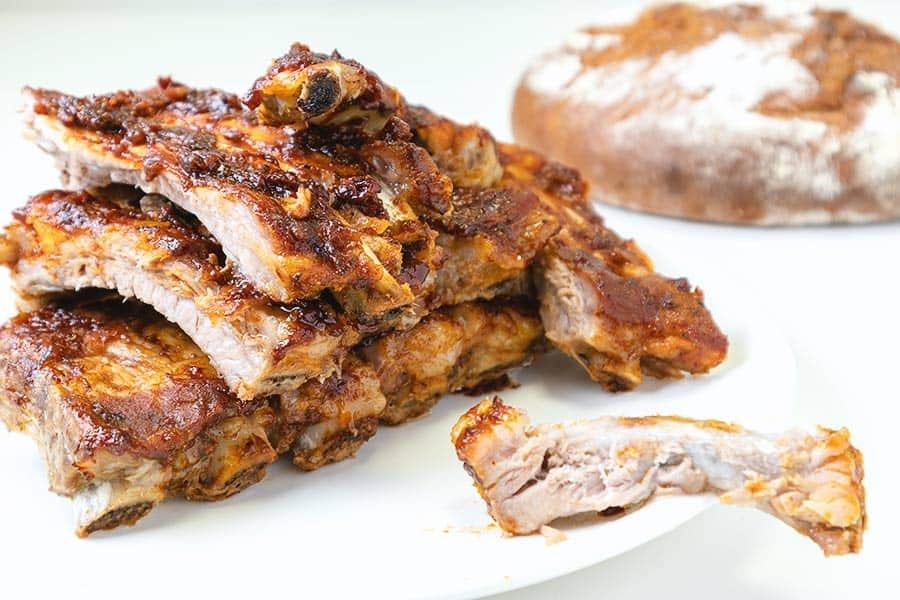 Rezept BBQ Spare Ribs