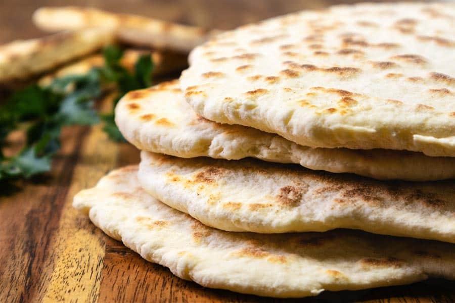 Rezept Einfaches Naan Brot