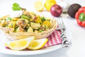 Rezept Hendl Avocado Salat