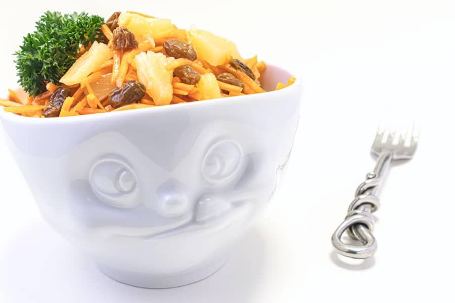 Rezept Karotte Ananas Salat