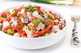 Leberkäse – Salat