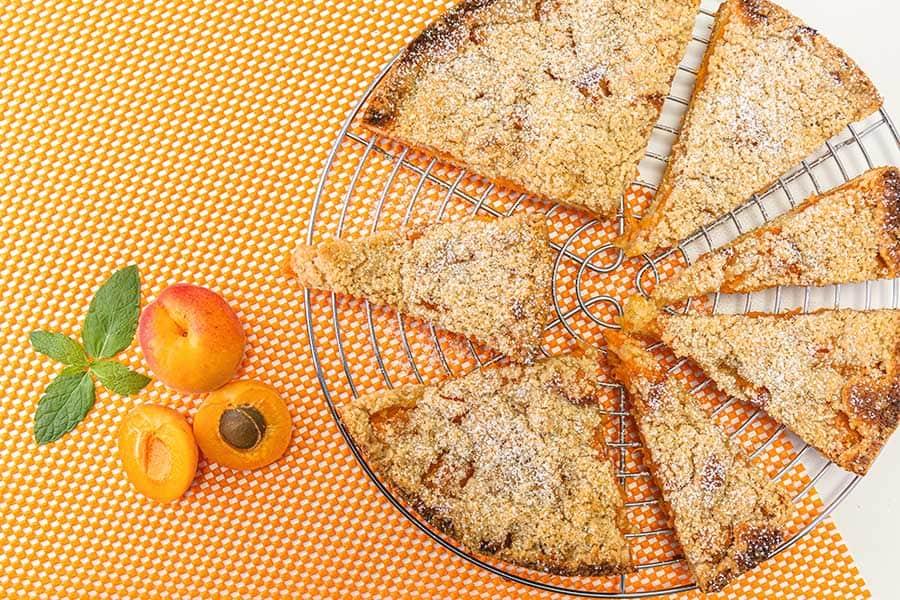 Rezept Marillen Streuselkuchen