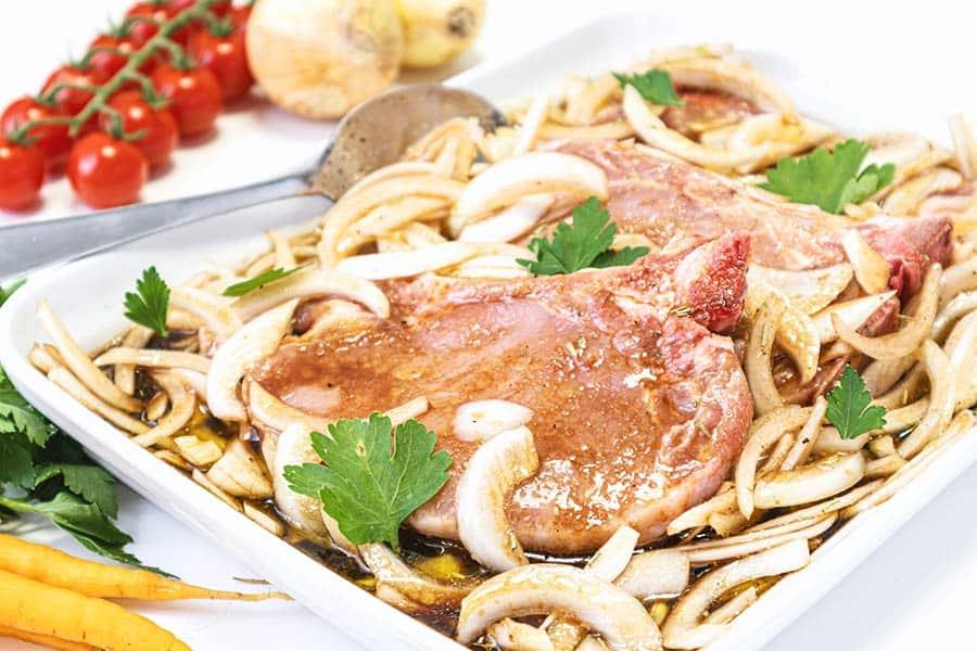 Rezept Marinade für Schwein, Rind & Lamm