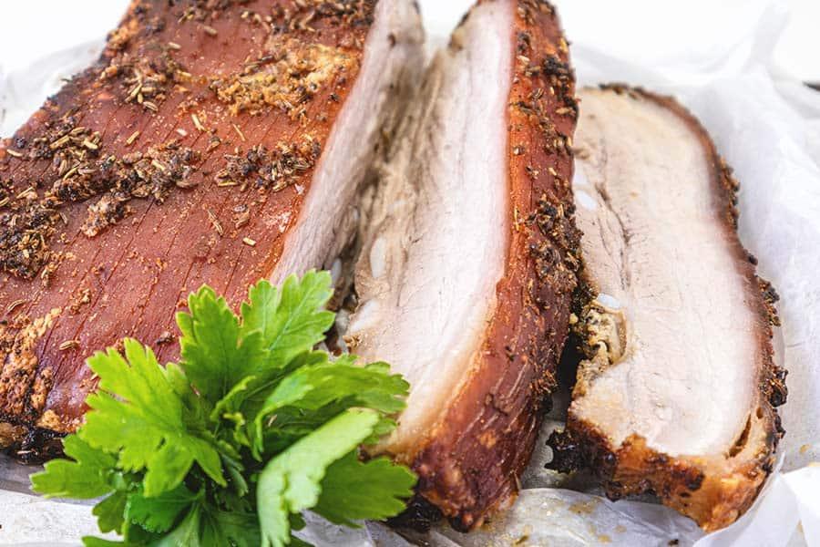 Rezept Schweinebauch aus dem Ofen