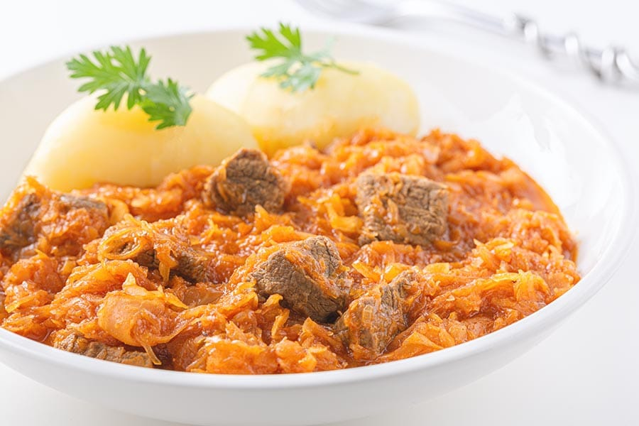 Rezept Ungarisches Szegediner Gulasch nach Univer