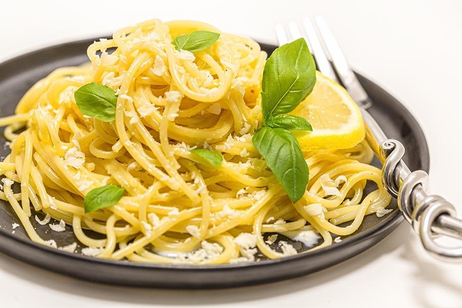 Rezept Zitronenspaghetti