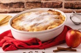 Apfel Lasagne