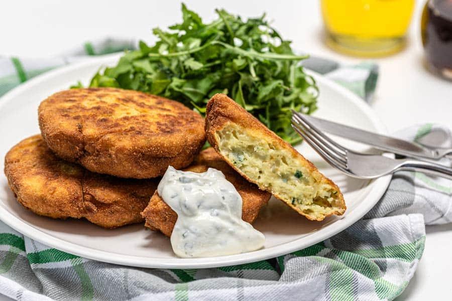 Rezept Erdäpfel Zucchini Laibchen