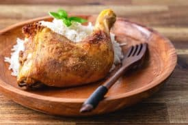 Knusprige & fettarme Hühnerkeulen