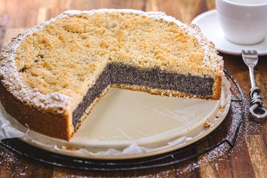 Rezept Mohn Streuselkuchen