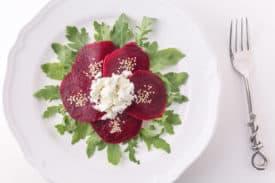 Rezept Rote Rüben Salat mit Feta