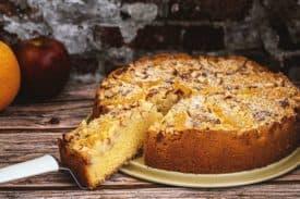 Rezept Apfel Orangen Kuchen