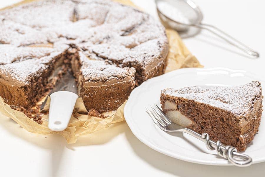 Rezept Birne Nuss Kuchen