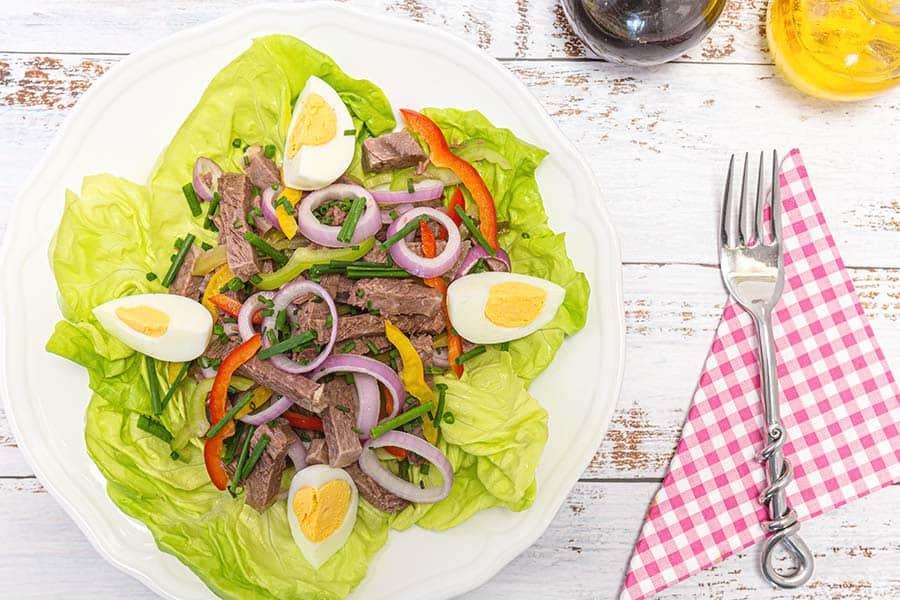 Rezept Einfacher Rindfleischsalat