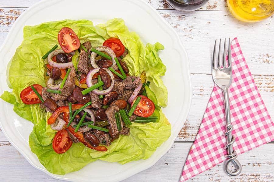 Rezept Steirischer Rindfleischsalat