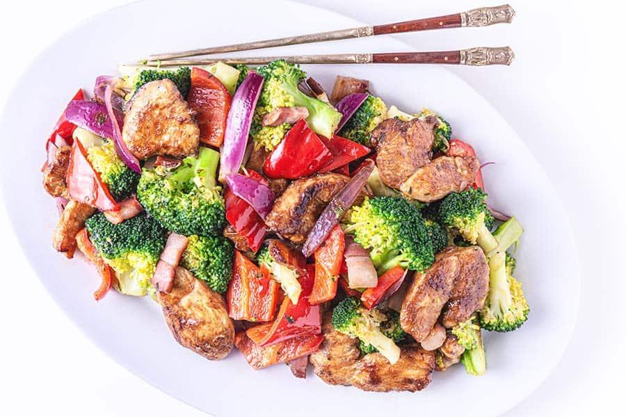 Rezept Hühnerpfandl mit Gemüse