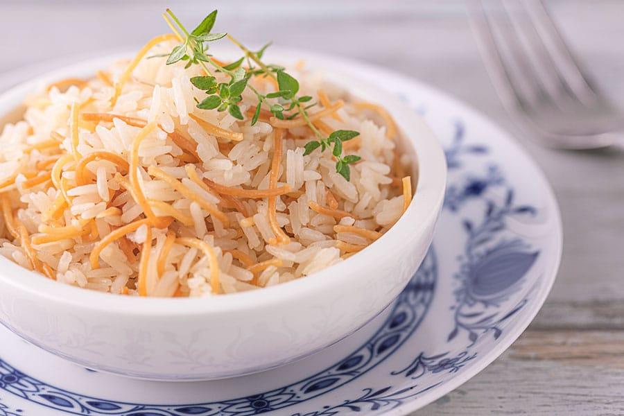 Rezept Reis mit Nudeln