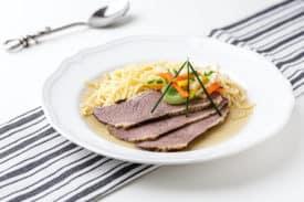 Klassisches Tellerfleisch