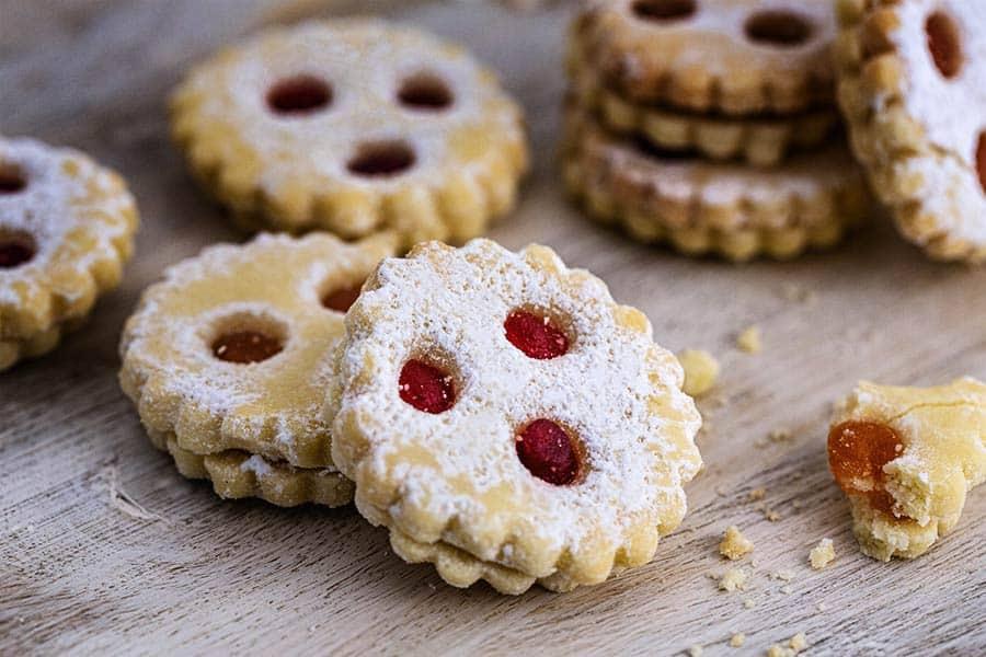 Rezept Linzer Augen Kekse