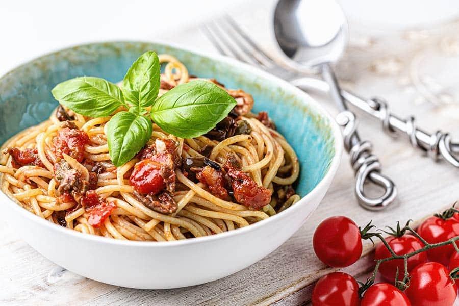 Rezept Spaghetti Puttanesca