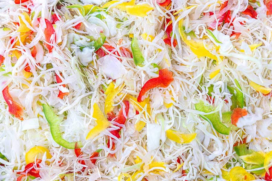 Rezept Warm marinierter Krautsalat