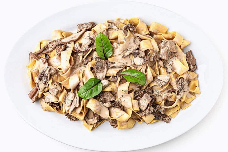 Rezept Pasta mit Steinpilz