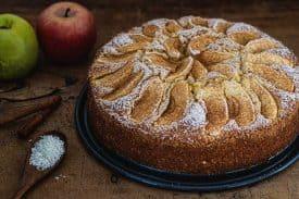 Rezept Apfel Kokos Kuchen