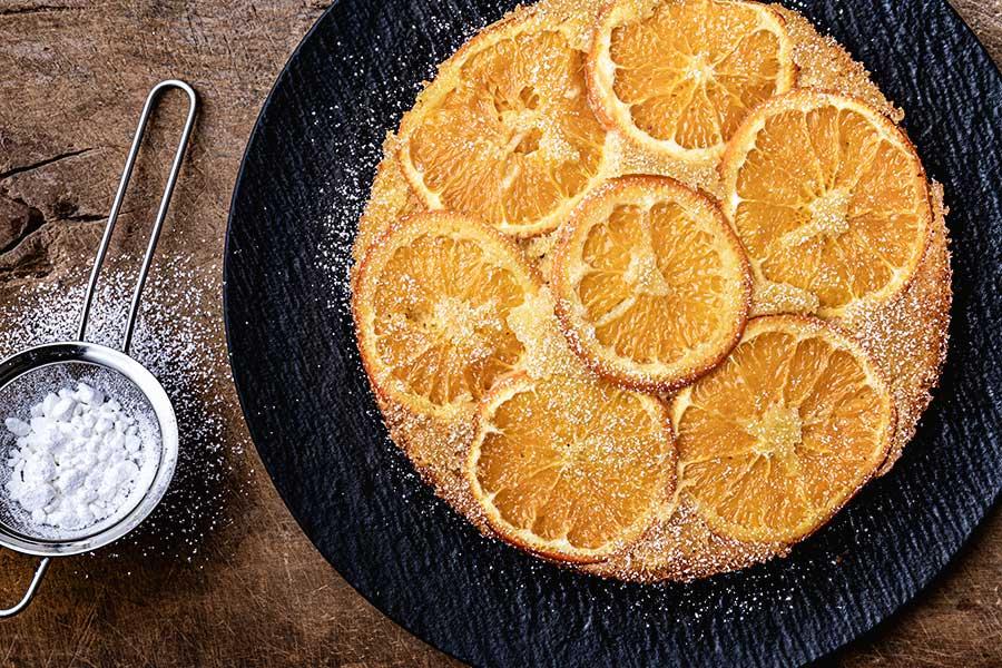 Rezept Saftiger Clementinenkuchen