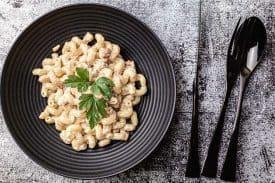 Gorgonzola Speck Pasta