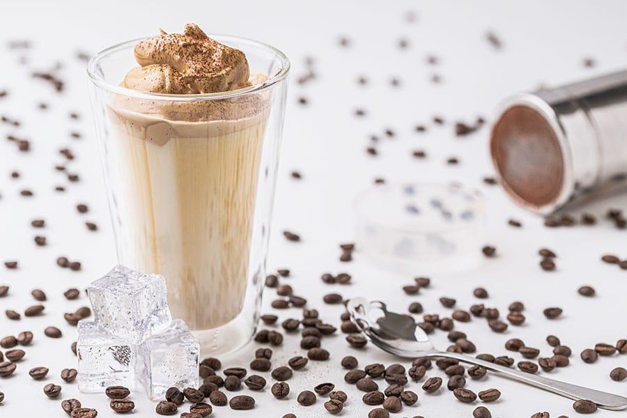 Rezept Dalgona Coffee Eiskaffee