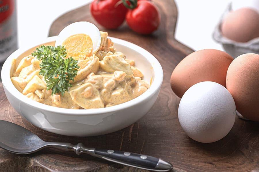 Rezept Klassischer Eiersalat