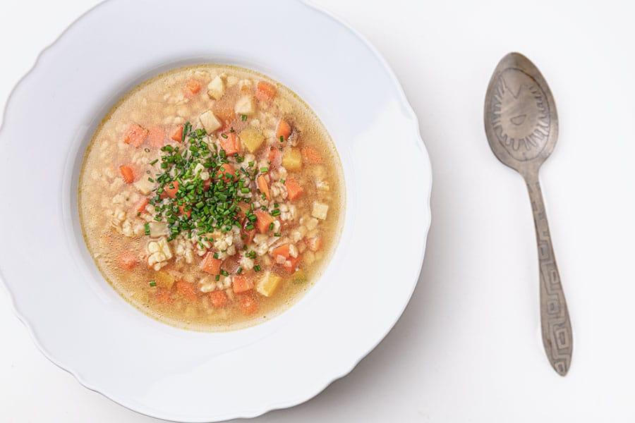 Rezept Ungarische Tarhonya Suppe