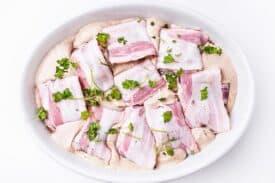 Schweinefilet Bacon Curry