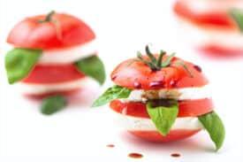 Tomate Mozzarella mariniert