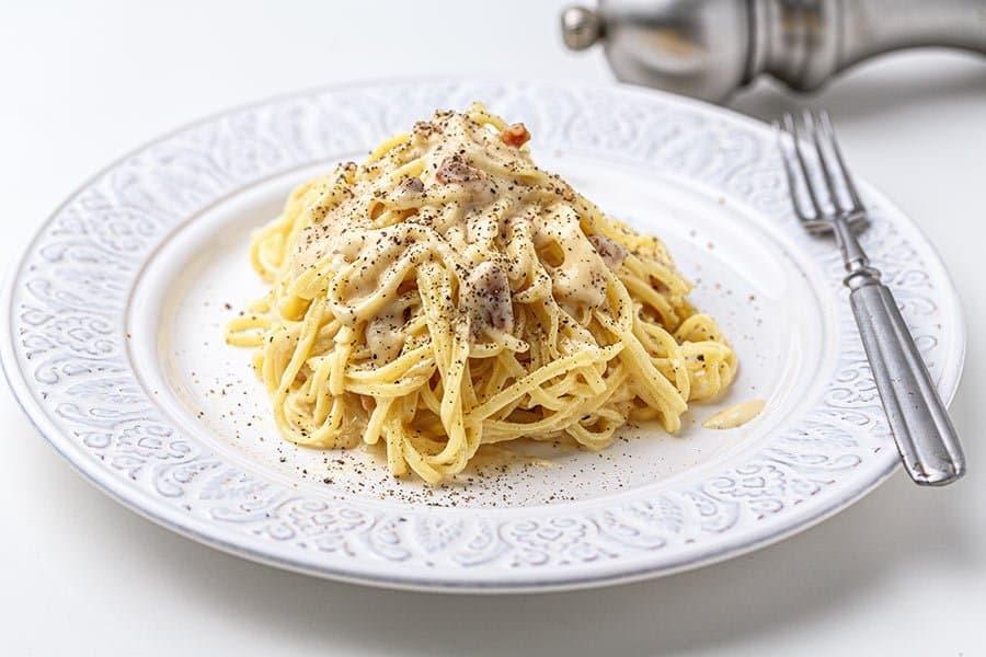 "Rezept Meine ""echten"" Spaghetti Carbonara"