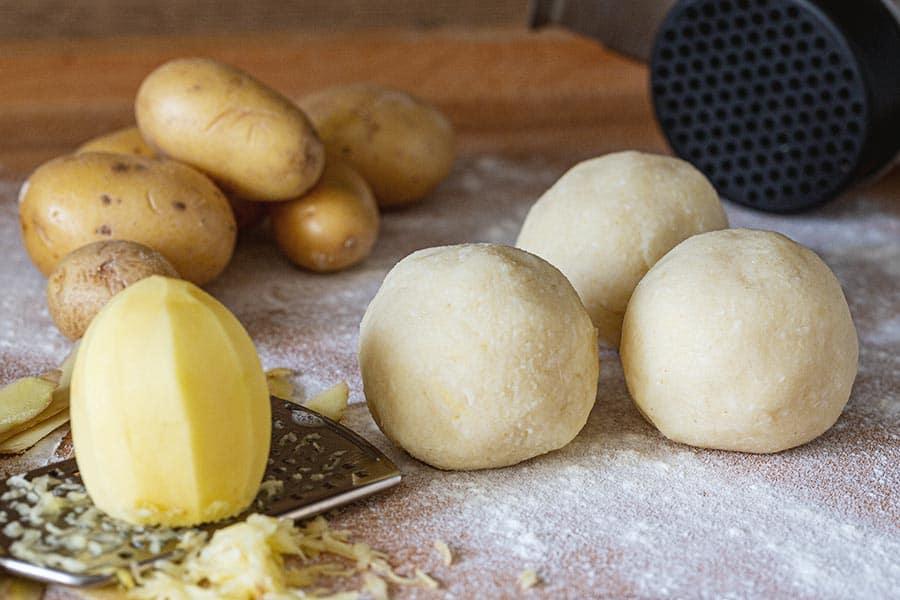 Rezept Kartoffelknödel roh