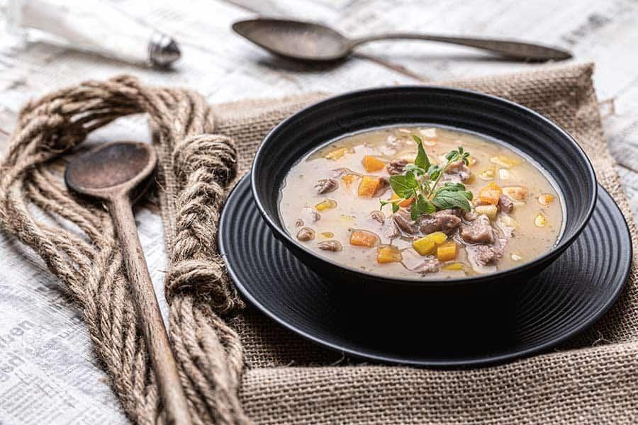 Rezept Gansleinmachsuppe