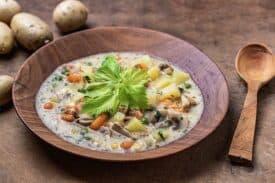 Kartoffel Gemüse Suppe