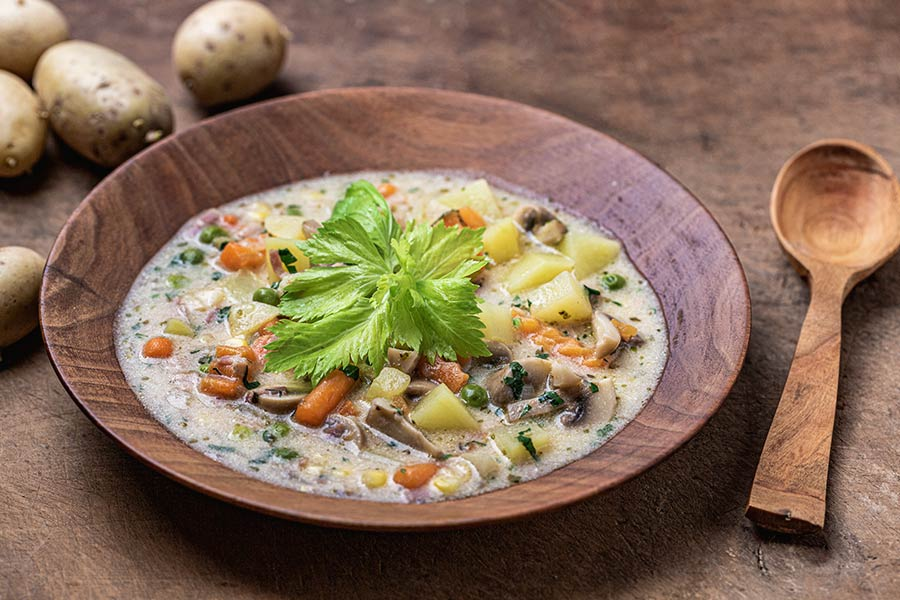 Rezept Kartoffel Gemüse Suppe