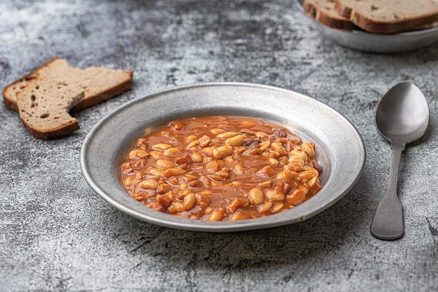 Rezept Serbische Bohnensuppe